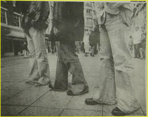 The Baldricks - the first group of lads to wear flares in Manchester